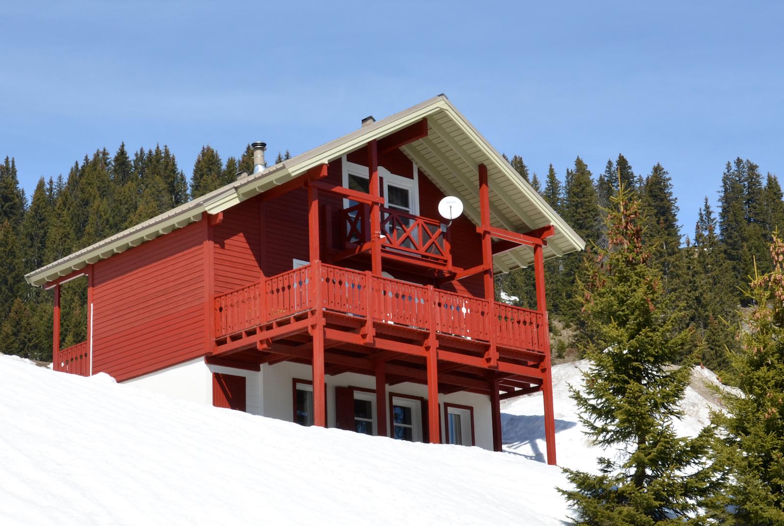 chalet 1 flaine grand massif ski montagnes hiver