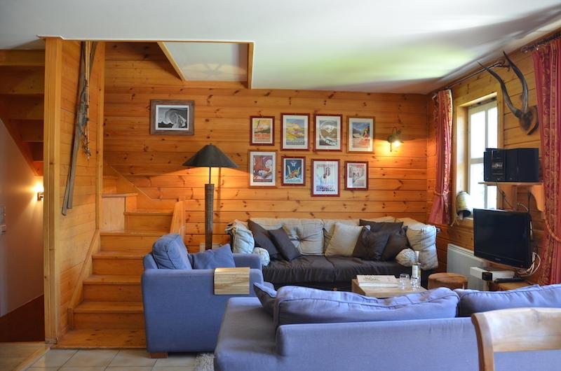 chalet 1 flaine grand massif ski salon