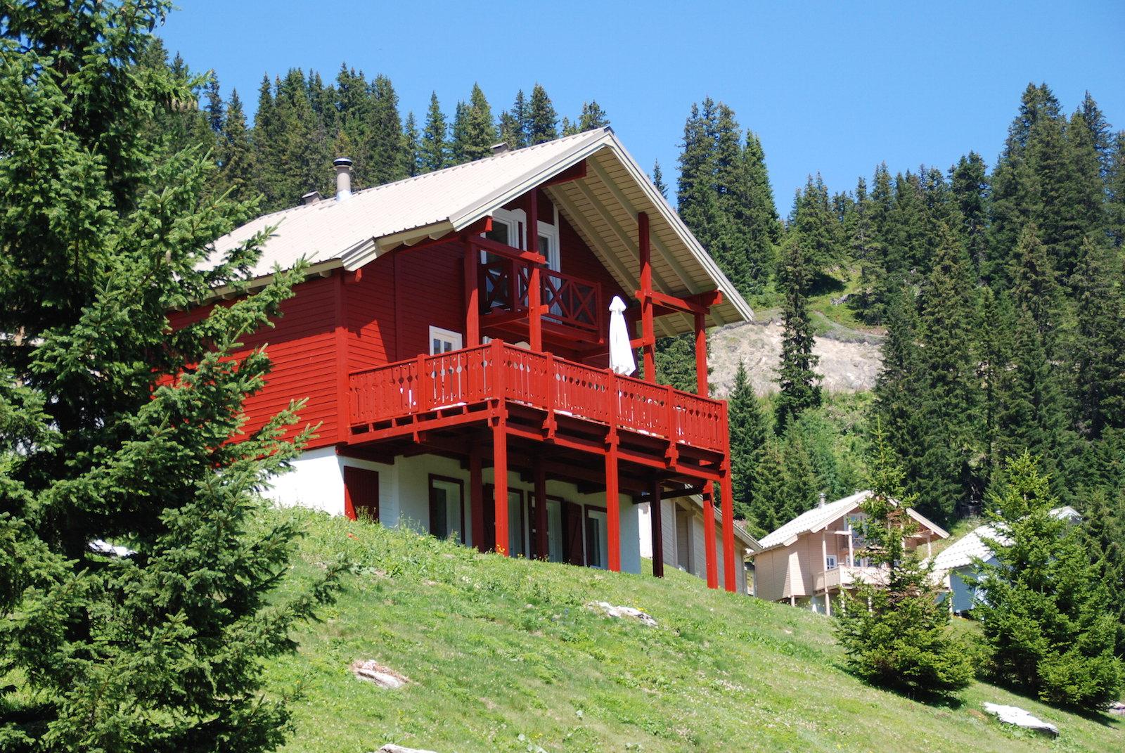 chalet 1 flaine grand massif ski summer